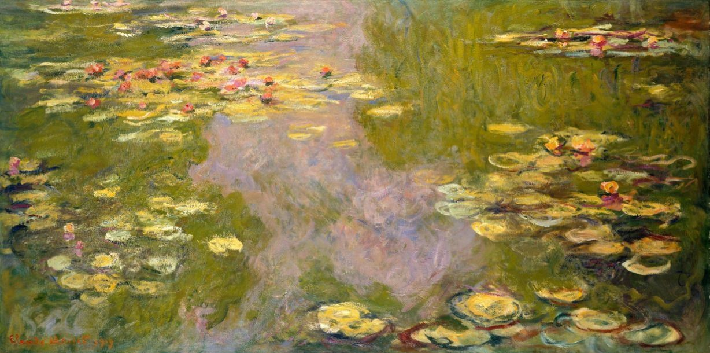 water-lilies-claude-monet